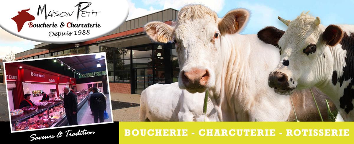 Boucherie Charcuterie Rôtisserie Volailles Traiteurs les halles d'Isneauville