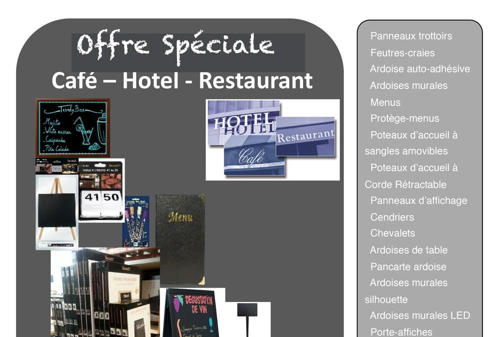 Offre Spéciale Café – Hôtel – Restaurant