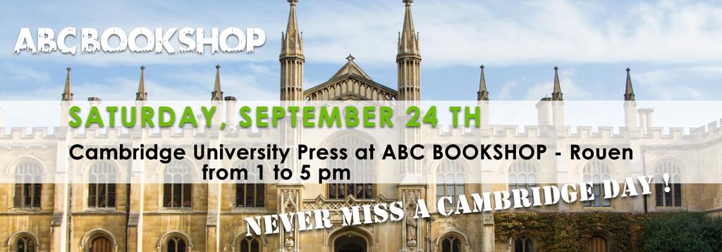Cambridge University Press at ABC BOOKSHOP – Rouen