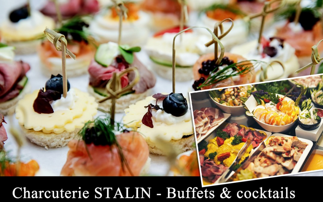 Buffets & Cocktails STALIN Traiteur