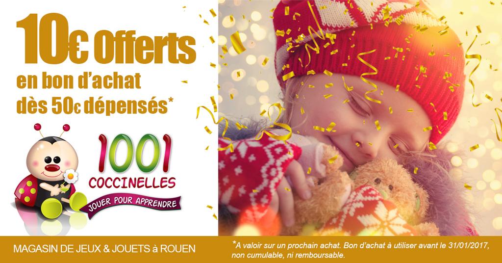 Chez 1001 COCCINELLES à Rouen … c'est Noël !