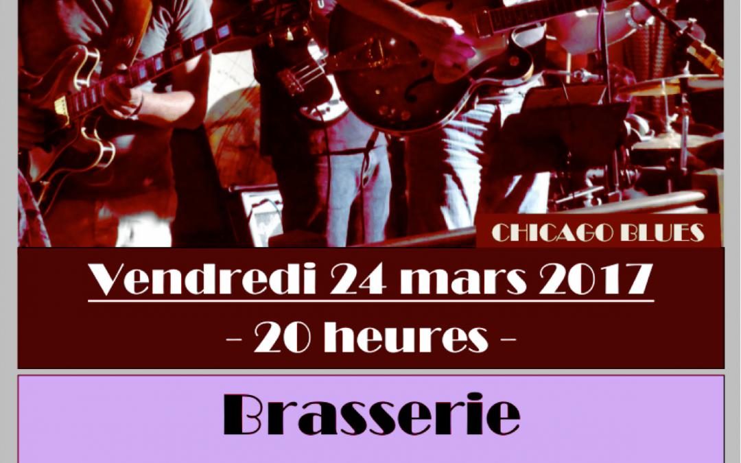 Concert le 24 mars à la Brasserie Interm@de
