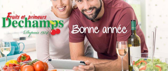 PRIMEURS DECHAMPS NOS RECETTES DU MOIS DE JANVIER