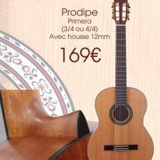 Pack Guitare Classique Prodipe chez Medium Musique