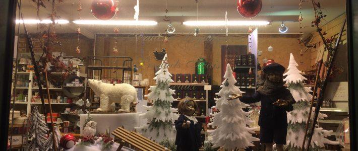 Vitrine de Noel de la Halle d'Antan