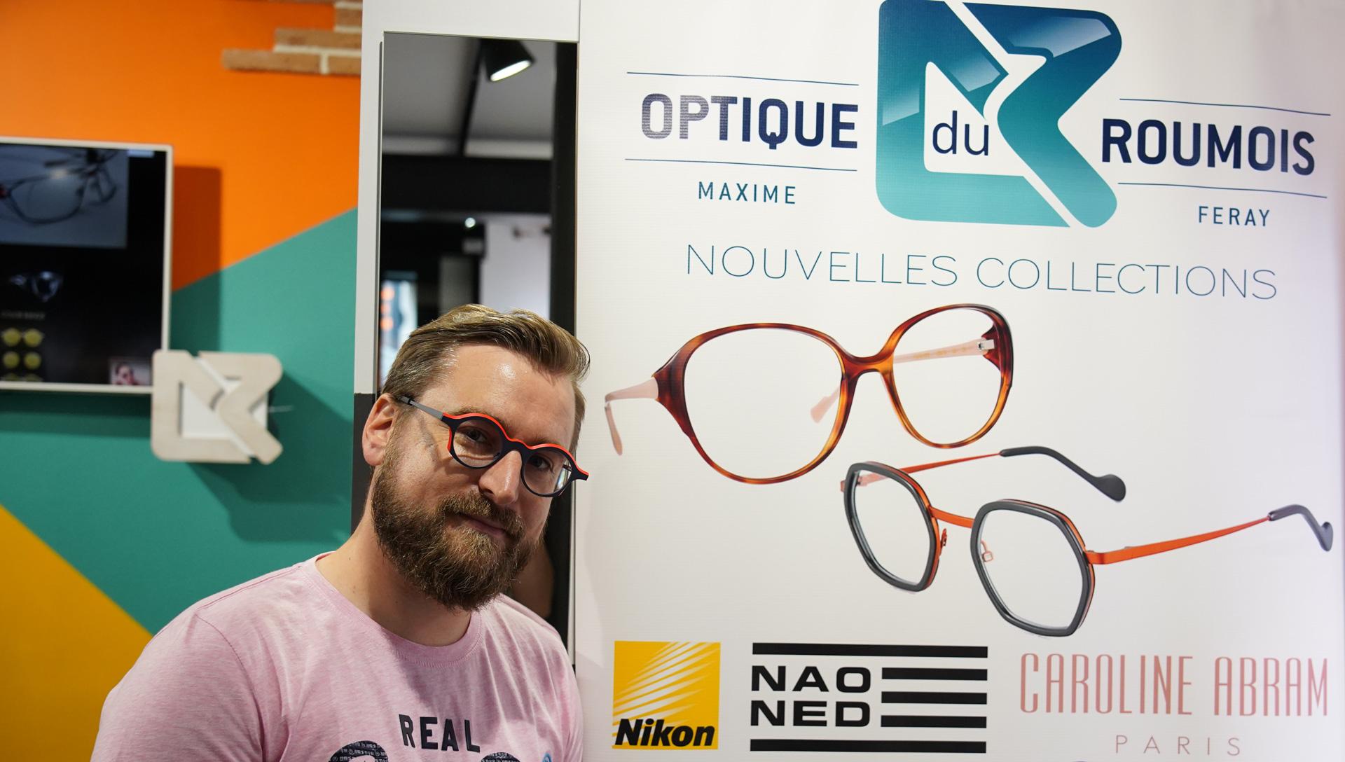 """Réalisation de l'événement """"Nouvelles Collections Montures"""" pour Optique du Roumois le 5 juin dernier."""