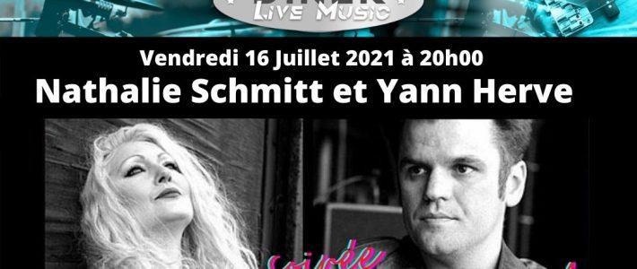 Le Saint Louis Diner accueille [Nathalie SCHMITT et Yann HERVE]