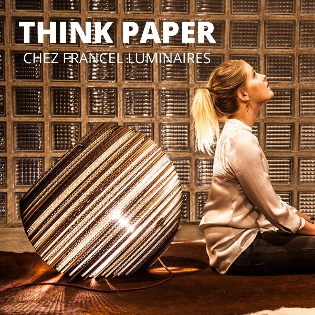 THINK PAPER CHEZ FRANCEL LUMINAIRES ROUEN